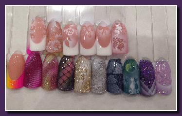 Обучение росписи ногтей